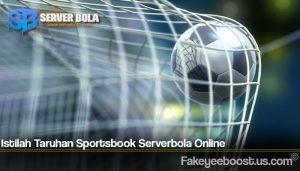 Istilah Taruhan Sportsbook Serverbola Online